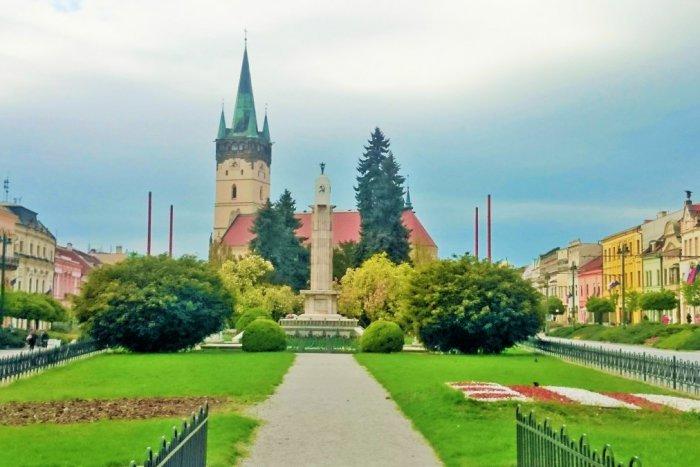 presov-centrum-namestie-park